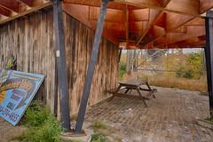ThreeBridgesParkRestArea (jmishefske) Tags: park street urban ecology table three canal nikon october picnic bridges center viaduct valley area rest 35th menomonee 2014 d7100