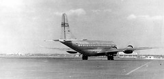 Chicago Midway Airport - Pan American World Airways - Boeing 377 (Stratocruiser) (twa1049g) Tags: chicago airport boeing midway 1949 377 stratocruiser n1025v