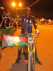 Cycle Taxi (NB's picks) Tags: africa milan west bicycle milano flag taxi velo filippo burkina drapeau inter siao afrique internazionale faso ouest