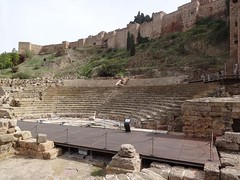 22 - Roman theatre, Malaga (SeanLXIV) Tags: cruise lisbon cadiz gibraltar malaga lacoruna azura pocruises