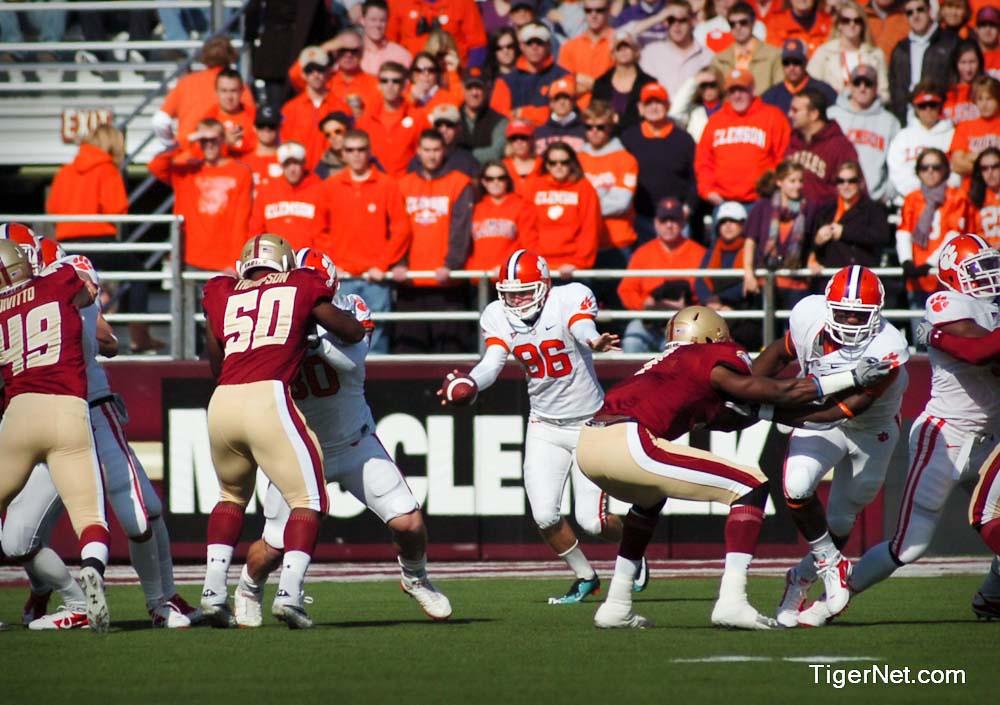 Clemson Photos: 2010, Boston  College, Dawson  Zimmerman, Football