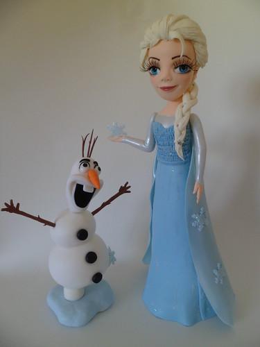 Elza e Olaf!