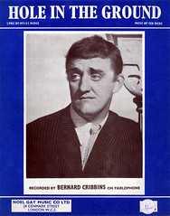 Bernard Cribbins - Hole In The Ground (The Downstairs Lounge) Tags: music comedy sheet britishcomedy