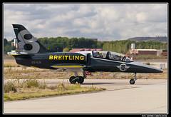 L-39 Albatros ES-YLR (HOMBRE DE NEGRO) (Fco Javier Garcia Ruiz) Tags: madrid espaa del garcia 75 javier aire base ruiz ejercito fco aerea torrejon spotter planespotter aerospotter