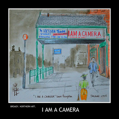 i am a camera BY BROADY 2015 (Broady - Salford art and photography) Tags: art illustration manchester artwork theatre drawing salford broughton iamacamera broady broadhurst