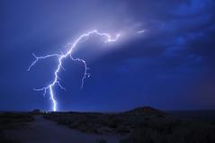 Reaching out (Great Salt Lake Images) Tags: summer utah antelopeisland greatsaltlake lightning ladyfinger bridgerbay