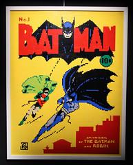 Batman (ec1jack) Tags: artofthebrick southbank dc lego brick cartoon london england britain uk europe winter march 2017 ec1jack kierankelly canoneos600d exhibition dccomics batman poster