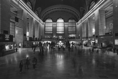 no rush hour left (Ioannis the graecum) Tags: canon a1 fd lens adox silvermax epson v850 new york nyc october 2016 20mm f28 ssc