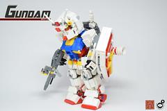 6. Gundam Ikimasu (Sam.C (S2 Toys Studios)) Tags: rx782 gundam mobilesuit legogundam lego moc samc s2toys 80s scifi mecha anime japan spacecraft