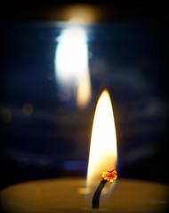 A little celebration (SteveJM2009) Tags: macromondays happy10years flames candles dof focus wick light bokeh macro bournemouth dorset uk march 2017 stevemaskell