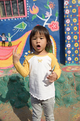 20161231-1026_D810_4843 (3m3m) Tags: 台中 彩虹眷村 壁畫