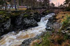Linn O' Dee (PeskyMesky) Tags: linnodee aberdeenshire scotland flickr water waterfall bridge le longexposure river