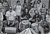 Fiesta en el Cuartel Ballajá (Samy Collazo) Tags: canon20dmonochromemode canoneos28105usm lightroom3 niksilverefexpro2 streetphotography fotografiacallejera bn bw musicos musicians musicoscallejeros streetmusicians sanjuan oldsanjuan viejosanjuan puertorico