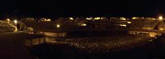 Anfiteatro de Mérida (Panorámica) (Marmotuca) Tags: extremadura provinciadebadajoz mérida emeritaaugusta anfiteatroromano anfiteatro fotografíanocturna