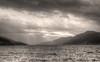 Loch Ness and the Great Glen, Inverness-shire, Scotland (Michael Leek Photography) Tags: scotland scottishlandscapes scotlandslandscapes scottishhighlands scottishlochs michaelleek landscape loch lake greatglen lochness clouds weather sunlight sun thisisscotland mountains highlands invernessshire blackandwhite sepia beauty scotlandsbeauty storm rain