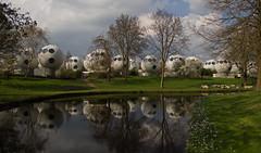 Den Bosch - Bollenveld (grotevriendelijkereus) Tags: bol globe ball bolwoning sphere house home building gebouw architecture architectuur den bosch s hertogenbosch brabant netherlands nederland holland