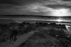 Godrevy Beach Sunset