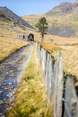Track to Capel Cwmorthin (ShrubMonkey (Julian Heritage)) Tags: rhosydd quarry managers house conglog cwmorthin slate disused derelict abandoned forgotten ruin ruined landscape valley wales building secluded isolation mountains snowdonia sonyalpha chapel capel