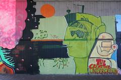 The creative underground (Jürgo) Tags: streetart streetartgermany streetartfrankfurt streetartffm frankfurt frankfurtammain frankfurtbockenheim frankfurtstreetart ffm creativeunderground