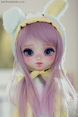 Little Creamy *tomorrow* (-Poison Girl-) Tags: pullip pullips doll dolls custom customs full colorful kawaii japan fairykei style creamy march marzo 2017 for adoption fa poisongirlsdolls poison girl poisongirldolls lilac purple lavender hair wig long straight fringe bangs makeup faceup handmade handpainted repaint repainted paint sweet cute eyebrows eyeshadow eyelashes freckles pecas nose carving carved mouth lips eyes eyechips junplanning jun planning grooveinc