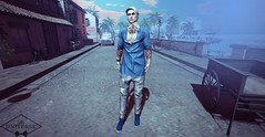 Look 87  //Ascend//  NEW release in TMD!!! (Raphael Gauthier) Tags: gift grouman men pants shirts blouse jacket style blog hair tattoo fashion couple shoes photoshop pgift gacha skin poses free clothes beard casual he ascend shoeminati badunicorn