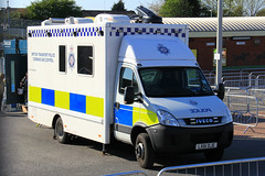 British Transport Police Iveco Daily Command And Control Unit (PFB-999) Tags: british transport police btp iveco daily command and control unit ccu van vehicle light modules grilles fendoffs leds lx61dje grand national liverpool