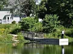 Aurora, IL, Waubonsie Lake Park, Fishing Pier