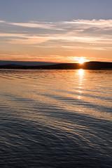 A Painting of the Midnight Sun (Kristin Repsher) Tags: arktikum d750 finland finnishlapland lapland midnightsun nikon northernfinland ounasjoki river rovaniemi summer