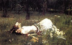 Ophelia by John William Waterhouse - for Jade 💜 (Dolldiva67) Tags: ophelia preraphaelite holman hunt