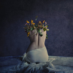 darkside (brookeshaden) Tags: brookeshaden fineartphotography conceptualart darkart surrealphotography selfportrait
