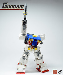 19. Gundam The Final Shot (Sam.C (S2 Toys Studios)) Tags: rx782 gundam mobilesuit legogundam lego moc samc s2toys 80s scifi mecha anime japan spacecraft