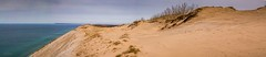 The Manitou Passage . . . (Dr. Farnsworth) Tags: sand dune 9 scenic overlook lakemichigan beach grass southmanitouisland sleepingbear piercestocking mi michigan spring march2017