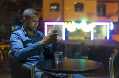 Abdelwahed (Karim Achalhi) Tags: portrait candles colorful night coffee memories bokeh inspiration friendship water concentration phone table sony ilce7 carlzeiss za t reflection morocco light artland creativity feeling glass humanity imagination lifestyle moment people view