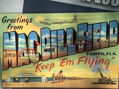 Postcard from MacDill (st_asaph) Tags: flyingfortress macdillafb b17 afb macdill tampa