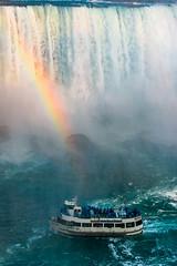 Scary at Niagarafall (Tech-Nic) Tags: niagarafalls niagarafälle fall river stream boat mist gischt spray eos600d canon boattour usa canada wasserfall regenbogen adventure wet nass feucht abenteuer maid technic