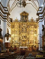 Altare d' oro (fr@nco ... 'ntraficatu friscu! (=indaffarato)) Tags: spagna spain españa espanya malaga