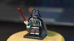 LEGO Chrome Darth Vader (brickventurer) Tags: lego minifigure starwars darth vader darthvader chrome chromedarthvader