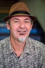 #11 Dean (Stefan NZ) Tags: 100strangers hat portrait street colour goatee man