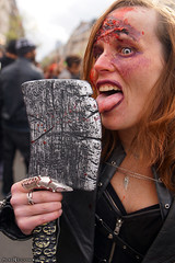 Lick it like it's hot (Red Cathedral uses albums) Tags: sonyalpha a77markii a77 mkii eventcoverage cosplay alpha sony larp colorrun sonyslta77ii slt evf translucentmirrortechnology redcathedral urbanart contemporaryart streetphotography belgium alittlebitofcommonsenseisagoodthing activism protest brussel brusselsinternationalfestivaloffantasticfilm bifff zombiewalk zombieparade zombie zombifffparade undead thewalkingdead twd blood horror lick