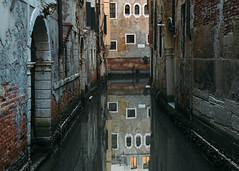 Venice reflections (V Photography and Art) Tags: reflection canal water facade vsco buildings venice venezia italy italia walls windows