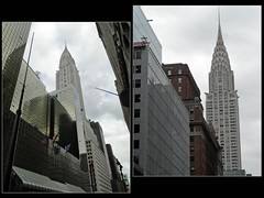 NYC. Manhattan. Le Chrysler Building vu d'en bas. 2011 (fvib'r) Tags: nyc newyork architecture immeuble gratteciel skyscraper building chryslerbuilding manhattan