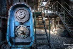 The Little Blue Engine (Wilga [notrespassing.pl]) Tags: urbex urbanexploration abandoned derelict creepy moody dark darkness horror opuszczone forgotten eksploracja zapomniane decay overgivnaplatser ruins modernruins history past vintage nostalgia nostalgic eerie wilga notrespassing spooky neglected fotografia interesting awesome quality verfall verlasseneorte surreal outdated hdr highdynamicrange processedimage processed advancedimage creativephotography texture industry factory abandonedfactory abandonedplant rusty engines rustyengines metal rust rdza przemysł industrialarchitecture industrial architekturaprzemysłowa zabytkipoprzemysłowe postindustrialne industrialne