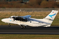 OK-LAZ (GH@BHD) Tags: oklaz let l410 let410 turbolet vanaireurope citywing bhd egac belfastcityairport airliner aircraft aviation turboprop