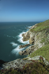 Beautiful Lundy (jebob) Tags: lundy devon jebob atlantic ocean granite rocks cliffs blue sky outdoors wild englan uk