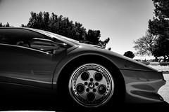 Lamborghini Diablo VT (Zazarel) Tags: lamborghini diablo vt car blakandwhite sigma 18250mm noiretblanc profile