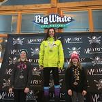 Big White Western Ski Cross Finals U12 WOMEN - RACE 2 PHOTO CREDIT: Todd Cashin