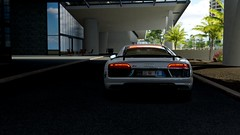 Dubai Police Audi R8 v10 plus (nikitin92) Tags: game screenshots vidoegame sportscar policecars dubai police audi r8 v10 plus germany pc forzahorizon3 car racing