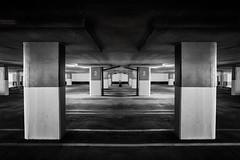 2 (shutterclick3x) Tags: parking garage bw blackandwhite frankloose
