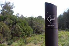 Dolmen arrow (AJ Mitchell) Tags: directions arrow dolmen blur sans serif