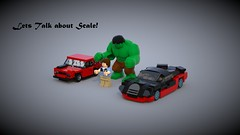 Let's Talk about Scale! (Fictitious Pasta) Tags: scale questions lego cars hulkbuster